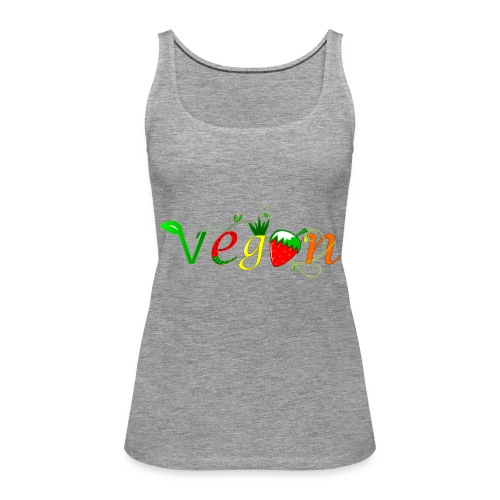 Vegan - Camiseta de tirantes premium mujer