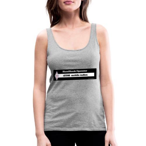 Tshirt Back Text iCOM Mob - Women's Premium Tank Top