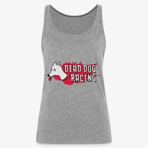 Dead dog racing logo - Women's Premium Tank Top