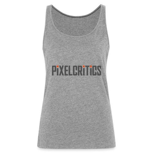 Pixelcritics Logo Dunkel - Frauen Premium Tank Top