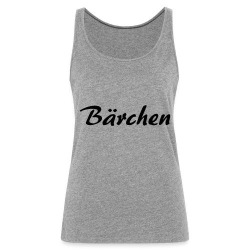 Bärchen - Frauen Premium Tank Top