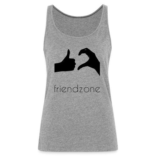 friendzone logo - Camiseta de tirantes premium mujer