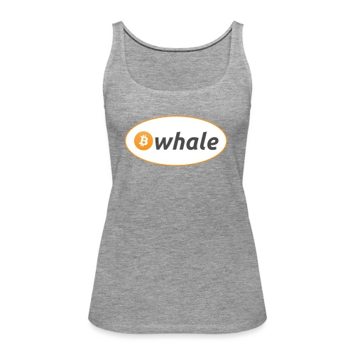 Bitcoin Whale - Women's Premium Tank Top