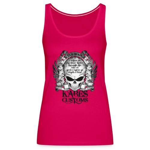 Kabes Tiptoe T-Shirt - Women's Premium Tank Top
