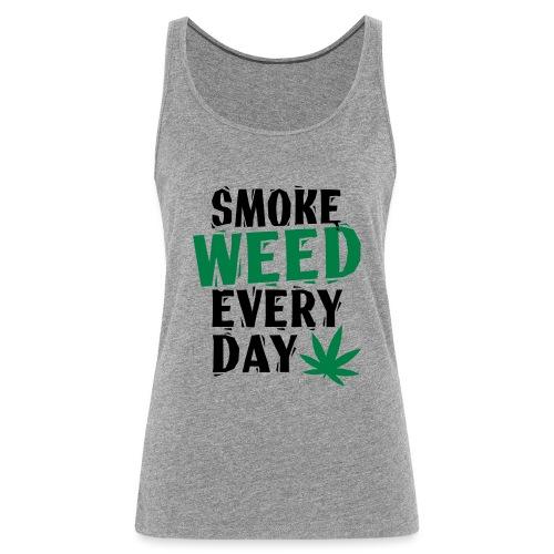 Smoke Weed Everyday Linovert - Débardeur Premium Femme