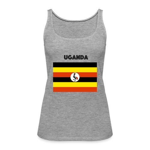 uganda shirt online - Women's Premium Tank Top