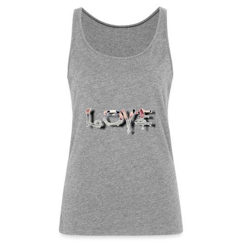 LOVE - Débardeur Premium Femme
