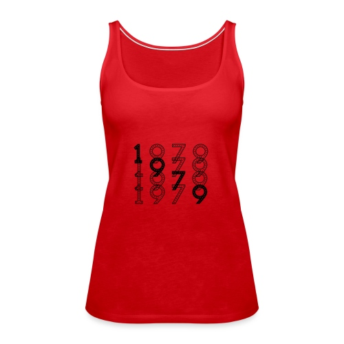 1979 syntymävuosi - Naisten premium hihaton toppi