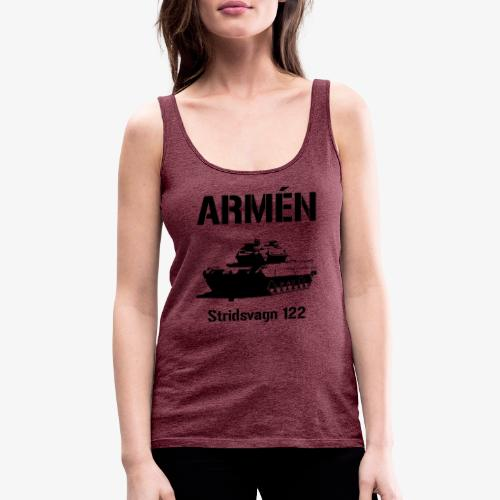 ARMÉN - Stridsvagn 122 - Premiumtanktopp dam