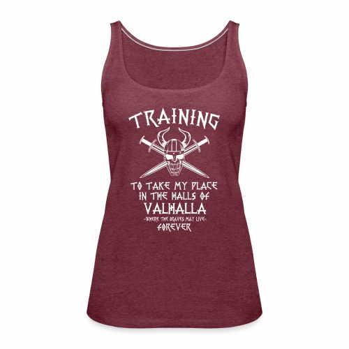 training for Valhalla - Camiseta de tirantes premium mujer