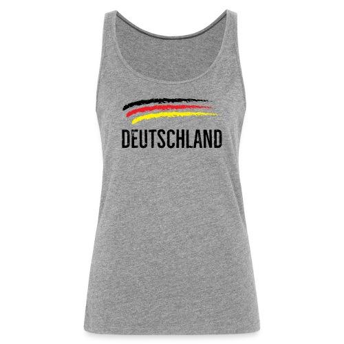 Deutschland, Flag of Germany - Women's Premium Tank Top