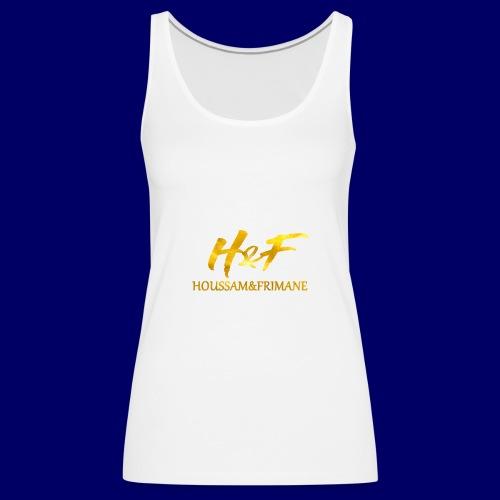 h f gold2 - Canotta premium da donna