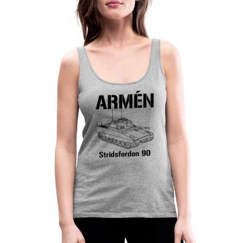 Armén Stridsfordon 9040 - Premiumtanktopp dam
