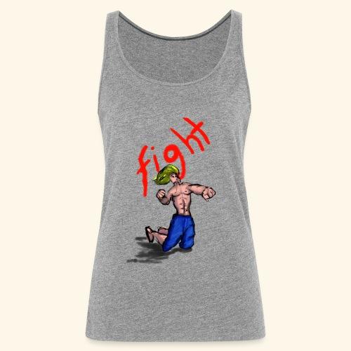 FIGHT - Camiseta de tirantes premium mujer
