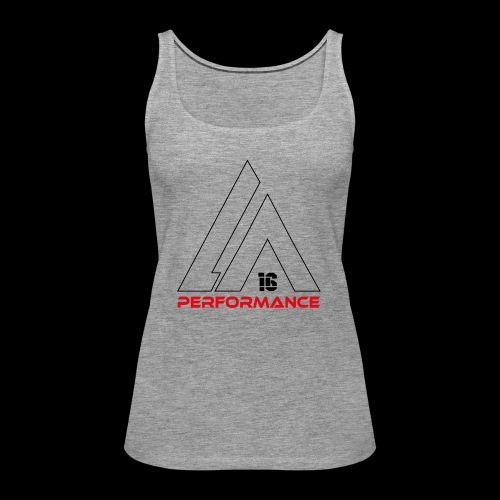 LA Performamce black/red - Frauen Premium Tank Top