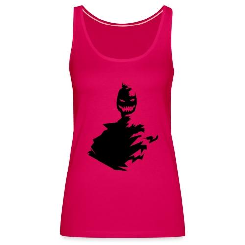 t shirt monster (black/schwarz) - Frauen Premium Tank Top