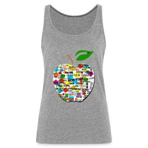 ny apple - Canotta premium da donna