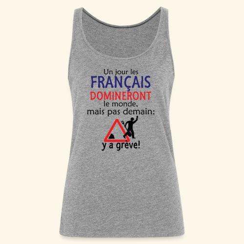 domination française - Débardeur Premium Femme