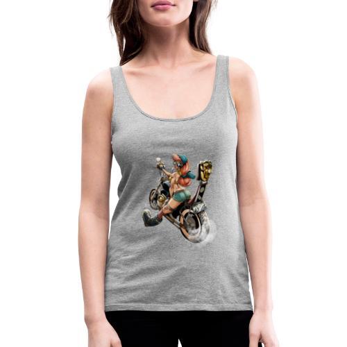 biker girlz - Camiseta de tirantes premium mujer