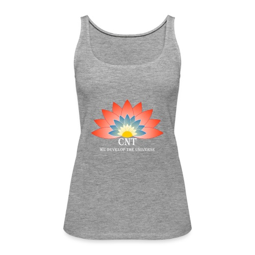Support Renewable Energy with CNT to live green! - Women's Premium Tank Top