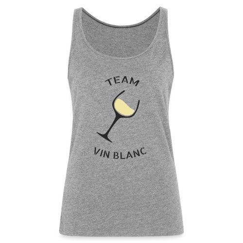 Team Vin Blanc - Débardeur Premium Femme