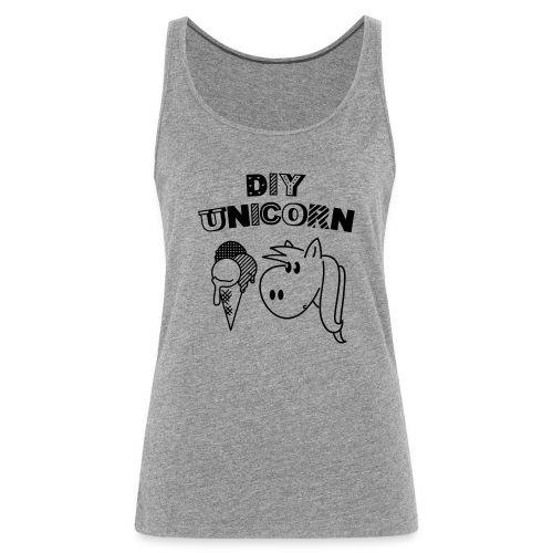 DIY Unicorn Einhorn - Frauen Premium Tank Top