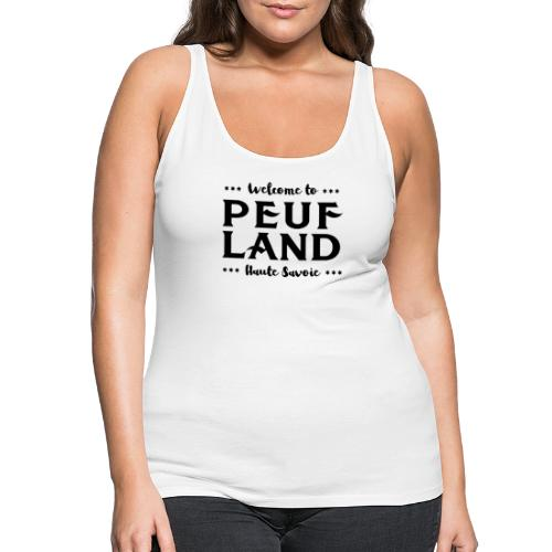 Peuf Land 74 - Black - Débardeur Premium Femme