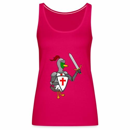 ducking crusade - Vrouwen Premium tank top