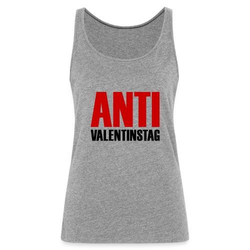 Anti Valentinstag Logo - Frauen Premium Tank Top