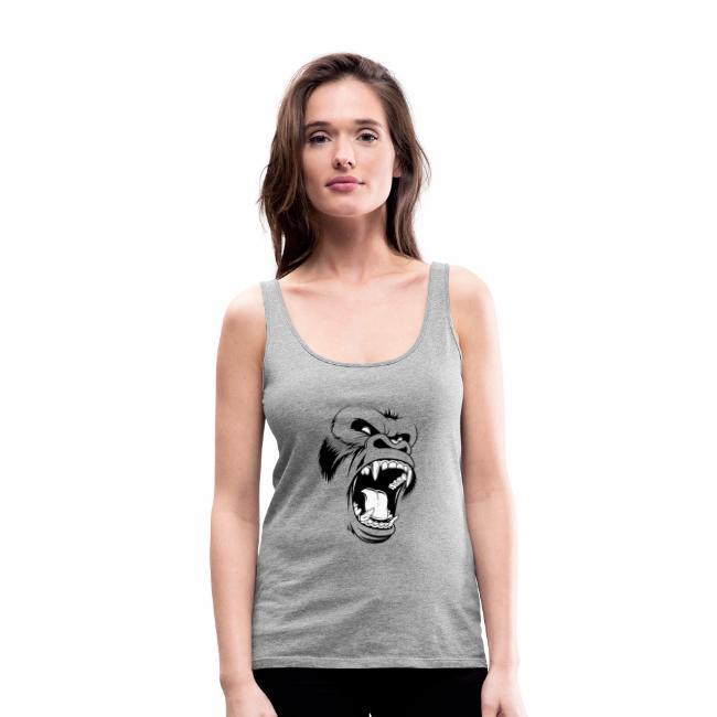 logo tête de gorille