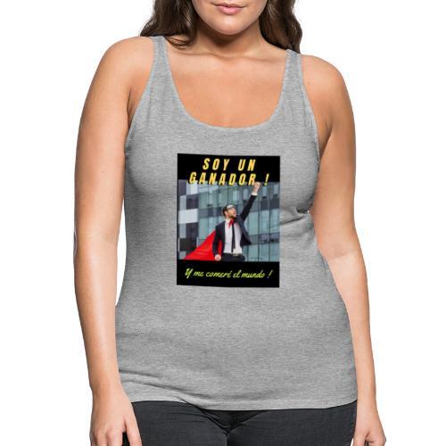 SOY UN GANADOR 2 - Camiseta de tirantes premium mujer