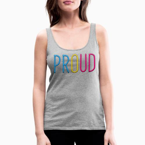 Proud Pansexual - Women's Premium Tank Top