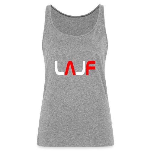 LAJF vit - Premiumtanktopp dam