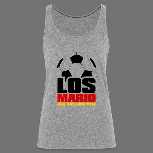 Piłka nożna - Idź Mario, hau przenoszenia rzeczy w - Tank top damski Premium