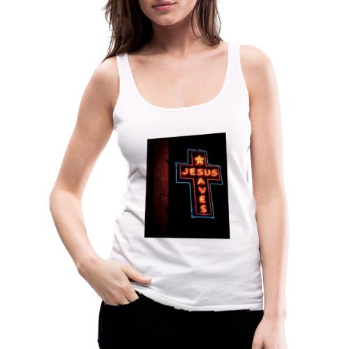 Jesus Saves - Women's Premium Tank Top