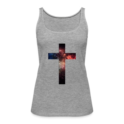 Cross Galaxy - Vrouwen Premium tank top