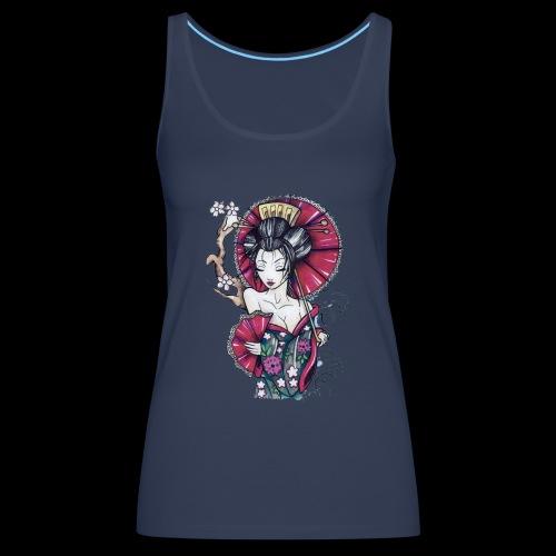 Geisha2 - Canotta premium da donna