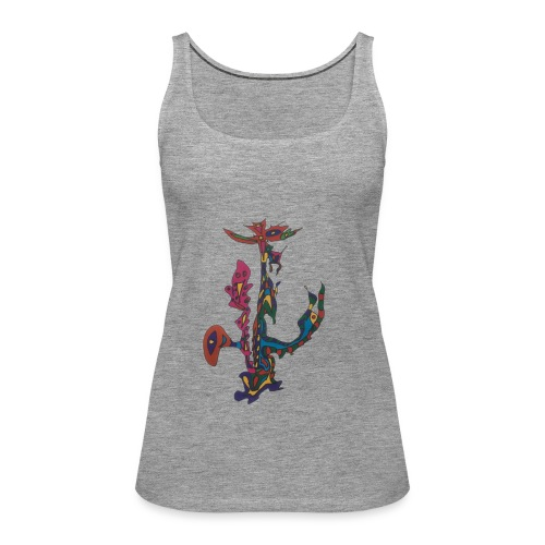 The man who sold the world. - Vrouwen Premium tank top