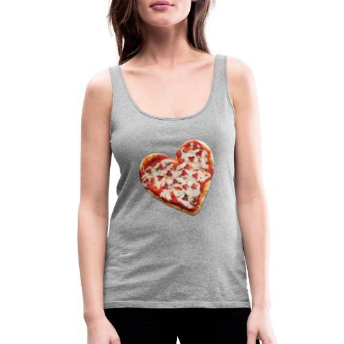 Pizza a cuore - Canotta premium da donna