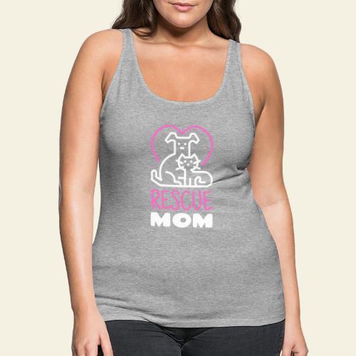 Rescue Mom - Naisten premium hihaton toppi