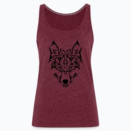 Tribal Wolf - Débardeur Premium Femme