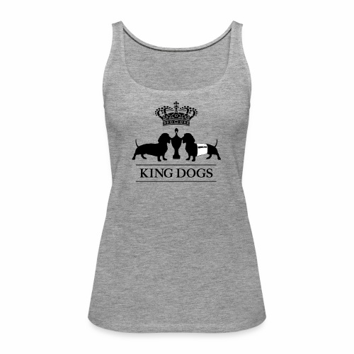 KING DOGS 2wear dog squad - Dame Premium tanktop