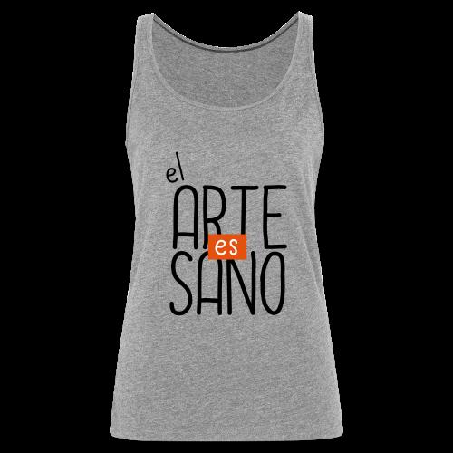 El arte es Sano - Camiseta de tirantes premium mujer