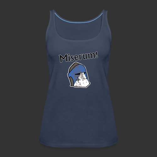 Warden Cytat Miserum! - Tank top damski Premium