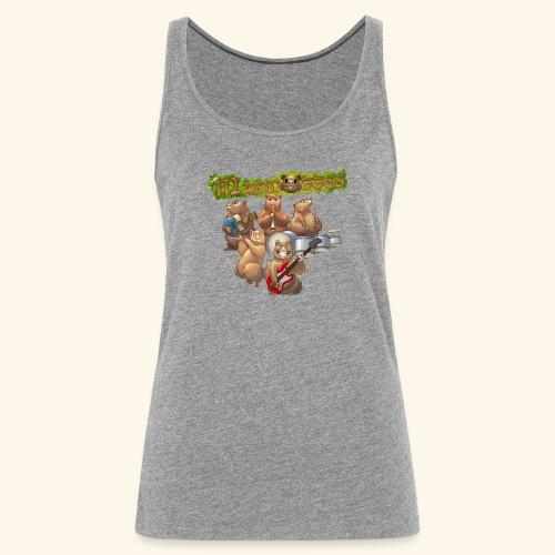 Tshirt groupe complet (dos) - Débardeur Premium Femme