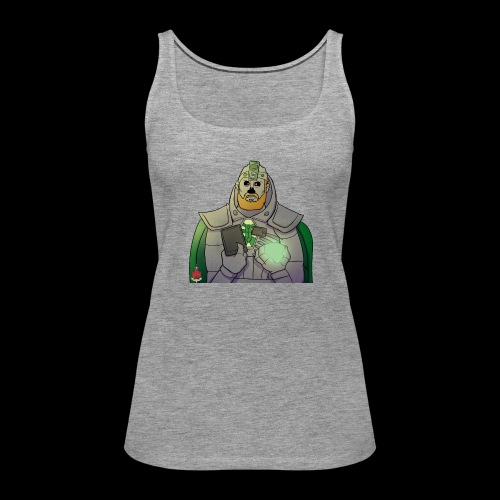 Elliot the Necron! - Women's Premium Tank Top