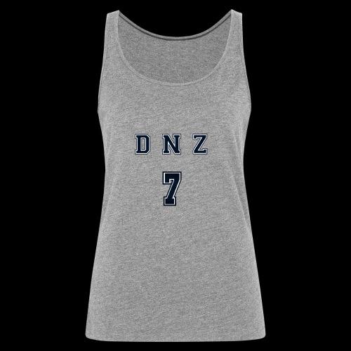 """""""DNZ"""" COLLAGE STYLE - Premiumtanktopp dam"""