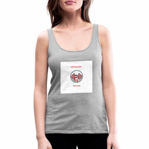FIT Concept Germany Logo+Beschriftung - Frauen Premium Tank Top