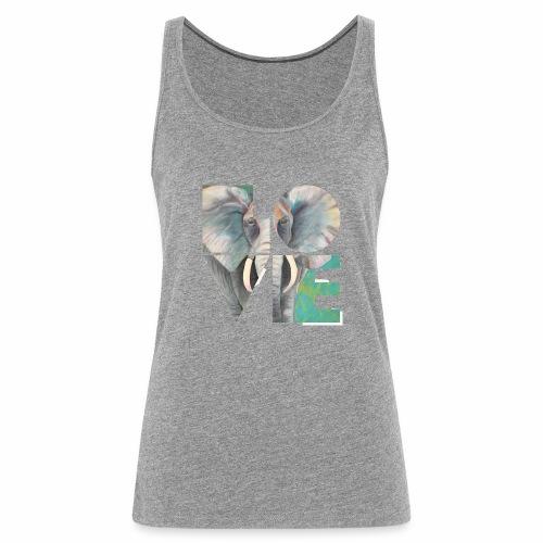 Elefant der Liebe - Frauen Premium Tank Top