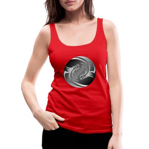 Yin Yang Dragon - Women's Premium Tank Top
